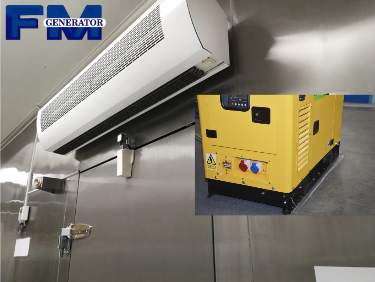 Backup Power for Cold Storage | Commercial Generators
