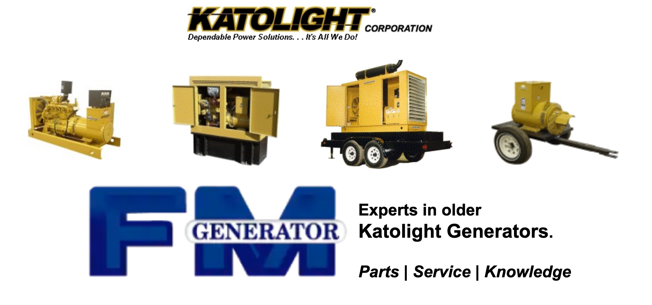 Katolight Generator Parts, Service & Repairs